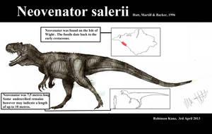 Neovenator salerii by Teratophoneus