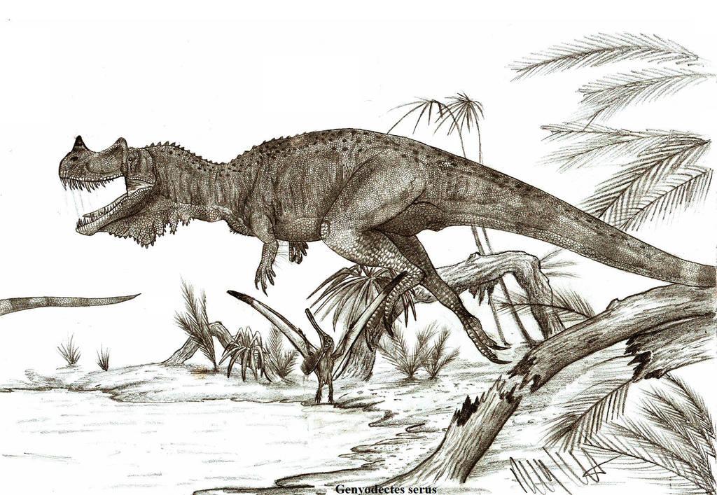 Genyodectes serus by Teratophoneus