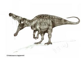 Cristatusaurus lapparenti by Teratophoneus