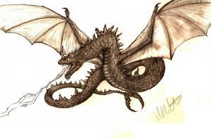 Lightning Dragon by Teratophoneus