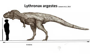 Lythronax argestes by Teratophoneus