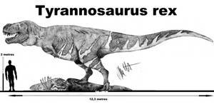 Tyrannosaurus rex 2k18 by Teratophoneus
