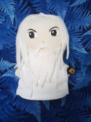 Saruman Mini Plushie by snowtigra