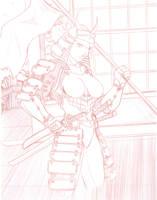 a samurai girlie by go-kun