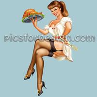 thanksgiving girl 2 by rzhevskii