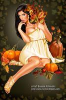 Autumn Girl 2 by rzhevskii