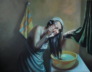 Stinging by Kamlot-ART