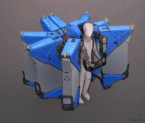 Japanese Garbage Jetpack by blee-d