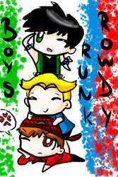 RQ:RowdyRunk Boys by DanaDani