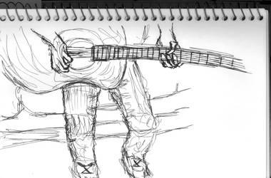 Guitar by Leglesslove