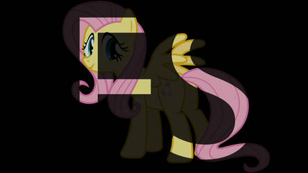 Initial Typography - Fluttershy by AlteranAncient