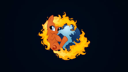 'Firefox' - Wallpaper by AlteranAncient