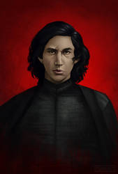 Last Jedi- Kylo Ren by Tsayaret