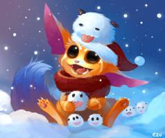 Secret Santa : Gnar ! by kotatsucats