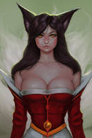 Ahri [League of Legends] by neozumi