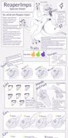 Reaper Imps +Species Sheet+ by Seffiron