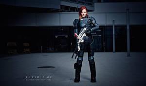 Mass Effect cosplay Commander Shepard by Vocoder