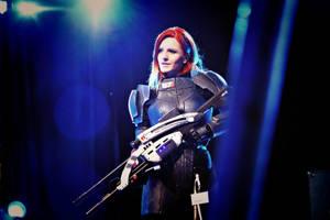 Commander Shepard by Vocoder