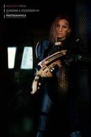Mass Effect cosplay, Shepard Commander by Vocoder