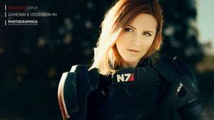 Commander Shepard - Mass Effect (N7 cosplay armor) by Vocoder