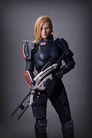 Mass Effect Cosplay by Vocoder