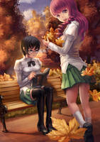 Nice autumn! by yukira0
