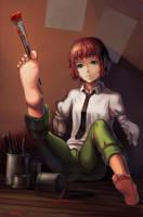 Usual Rin by yukira0
