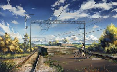 Old railway by yukira0