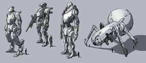 Robots 4321 by yukira0