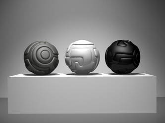 Untitled Spheres by timbroadwater