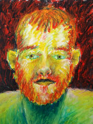 Self Portrait by timbroadwater