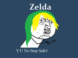 My question to zelda by Freak-of-Games