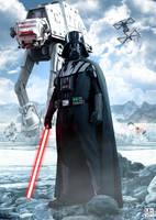 Darth Vader - Poster by ArtBasement