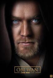 Obi Wan : A Star Wars Story - Poster by ArtBasement