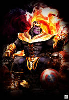 Thanos - Poster by ArtBasement