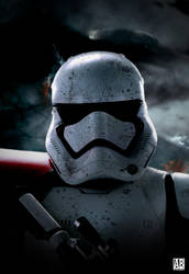 Stormtrooper - Poster by ArtBasement