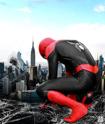 Spider Man Far From Home Poster by ArtBasement