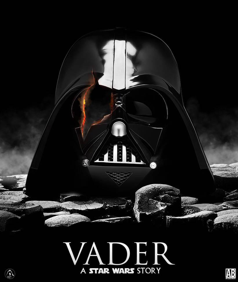 Fan Vader Film Poster by ArtBasement