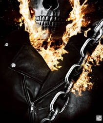 Ghost Rider Poster by ArtBasement