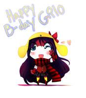 Happy B-day Gilolo by Yamio