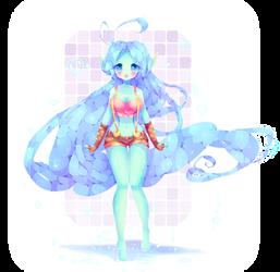 Bubbly Umi by Yamio