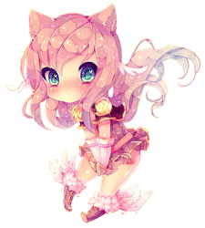 Kitty Paw [SPEEDPAINT] by Yamio