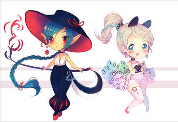 Halloween Adopts | Batch 1 [CLOSED] by Yamio