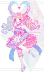 Pampy Princess Fairy Vial by Yamio