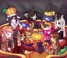 Happy Halloween by Kurohi-tyan