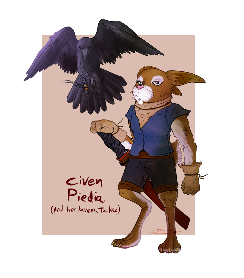 Civen Piedia Of The Rabbit Folk By Chesterpalm On Deviantart