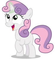 Sweetie Belle - Magic Time by CaliAzian