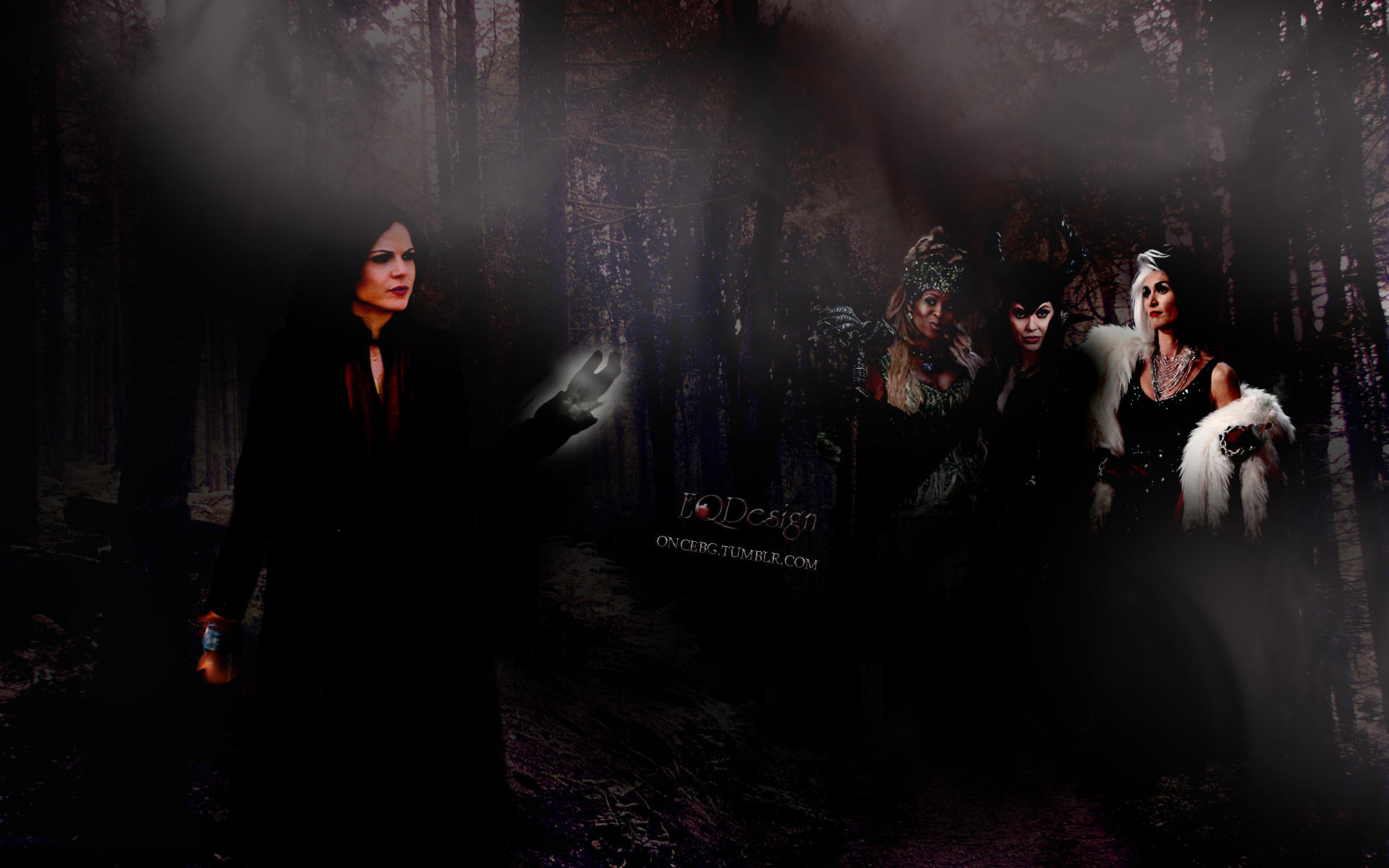 Regina and Queens Of Darkness by eqdesign