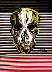 Skull by victoriakabluyen