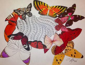 Left- Butterflies by victoriakabluyen
